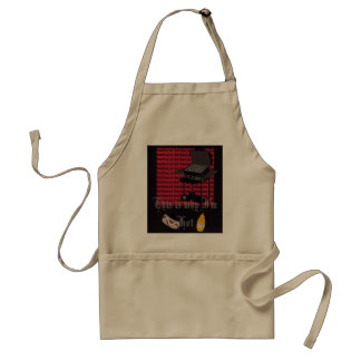 barbecue, This is why I'm Hot Standard Apron