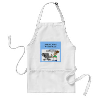 barbecuing with chuck standard apron