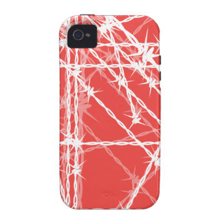 Barbed Wire iPhone 4 Cases