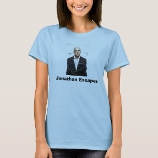 Barbed wire, Jonathan Escapes T-Shirt