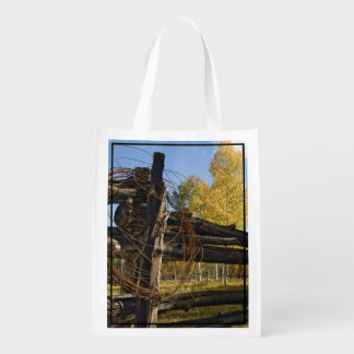 Barbed Wire Reusable Grocery Bag