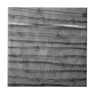 barbed wire small square tile