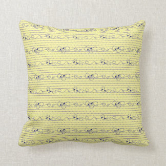 Barbed Wire Throw Cushion