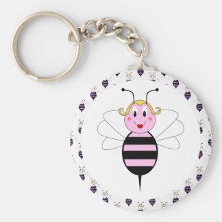 BarBee Bumble Bee Keychain