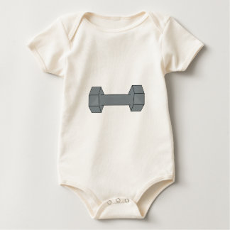 Barbell Baby Bodysuit