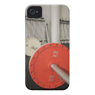 Barbell in gym iPhone 4 Case-Mate cases
