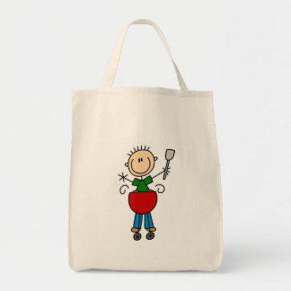 Barbeque Stick Figure Bag