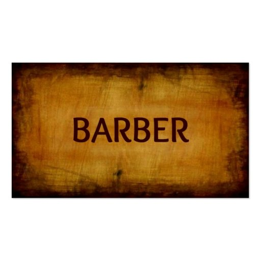 Create Your Own Barber Business Cards Page6