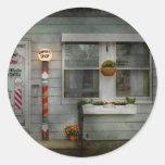 Barber - Belvidere, NJ - A Family Salon Round Sticker