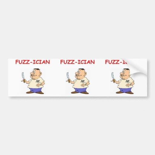 barber bumper stickers