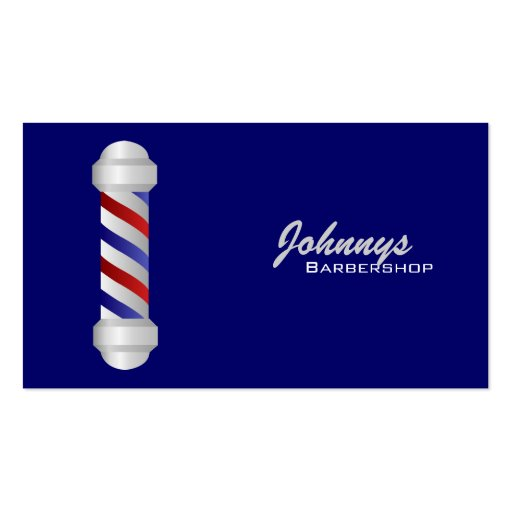 Barber Business Cards- color changeable