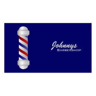 Barber Business Cards- color changeable Pack Of Standard Business Cards