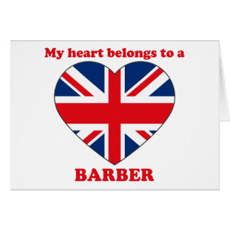 Barber Greeting Cards