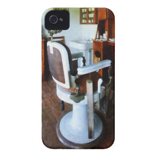 Barber Chair and Cash Register iPhone 4 Case-Mate Cases
