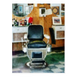 Barber Chair Front View Postcard