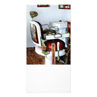 Barber Chair Photo Card Template