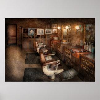 Barber - Clinton, NJ - Clinton Barbershop Print
