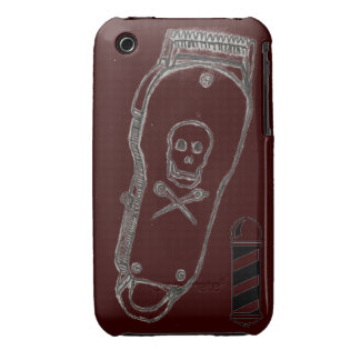 Barber Clippers IPhone Case Brown iPhone 3 Covers