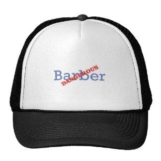 Barber Dangerous Trucker Hats