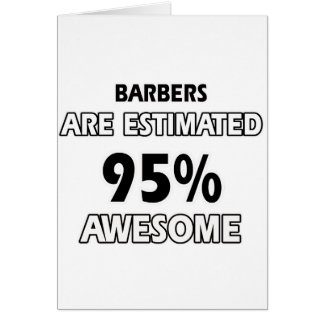 barber Designs Greeting Cards
