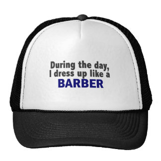 Barber During The Day Cap