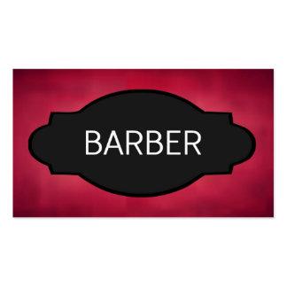 Barber Elegant Name Plate Pack Of Standard Business Cards