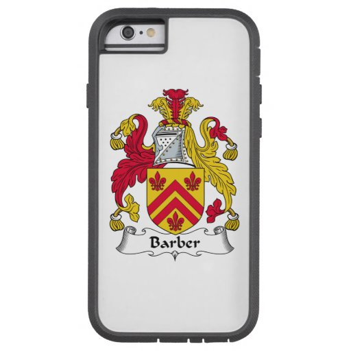 Barber Family Crest Tough Xtreme iPhone 6 Case
