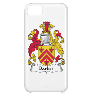 Barber Family Crest iPhone 5C Case
