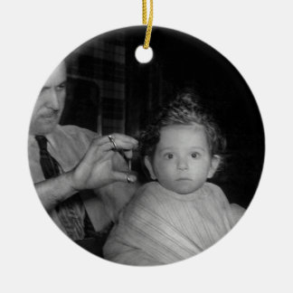 Barber - First Haircut Christmas Ornament