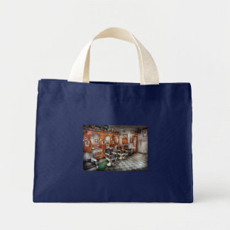 Barber - Frenchtown Barbers Canvas Bags