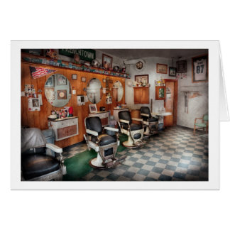 Barber - Frenchtown Barbers Card