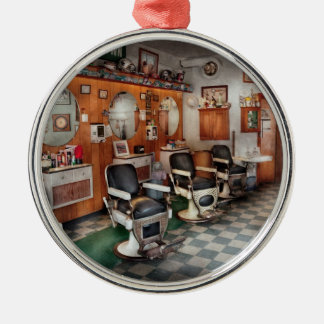Barber - Frenchtown Barbers  Christmas Ornament