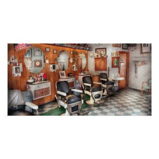 Barber - Frenchtown Barbers Photo Card Template
