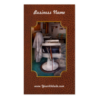 Barber - Frenchtown, NJ - We have some free seats Pack Of Standard Business Cards
