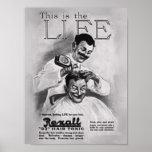 Barber Grooming Poster