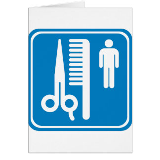Barber Highway Sign Greeting Card