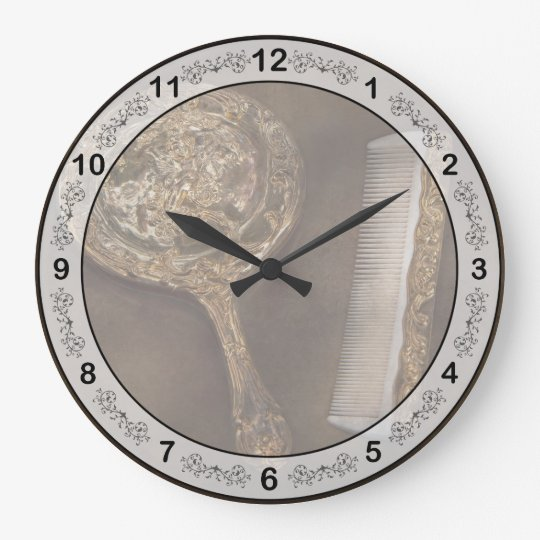 Barber - I'm so pretty Large Clock