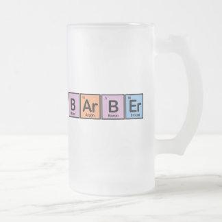 Barber made of Elements Coffee Mug