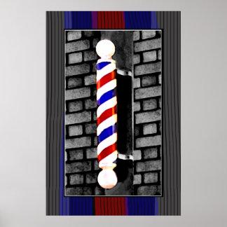 Barber / Men's Hair Stylist  Poster Print