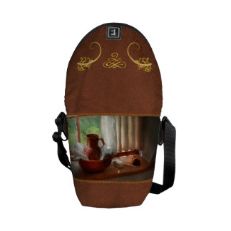Barber - Morning habits Courier Bags