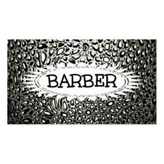 Barber Mosaic Star Business Card