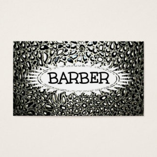 Barber Mosaic Star Business Card
