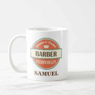 Barber Personalized Office Mug Gift