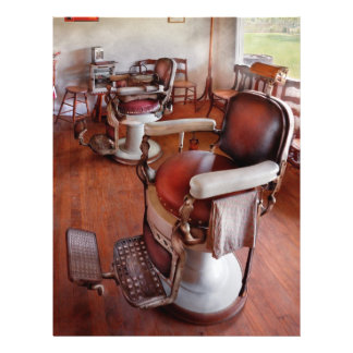 Barber - Please have a seat 21.5 Cm X 28 Cm Flyer