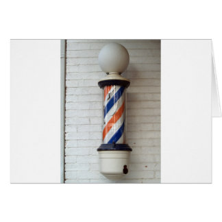 Barber Pole Greeting Cards