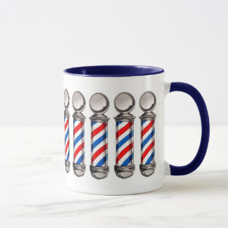 Barber Pole Coffee Mug