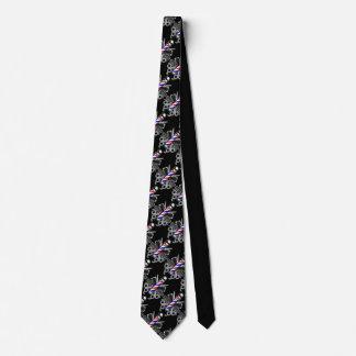 Barber Pole Logo Tie