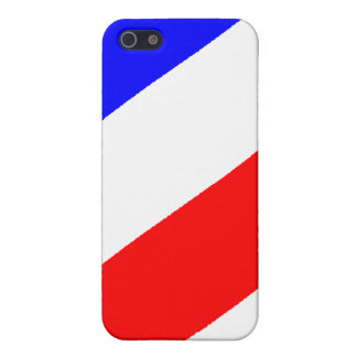 Barber Pole Pattern iPhone 5 Case
