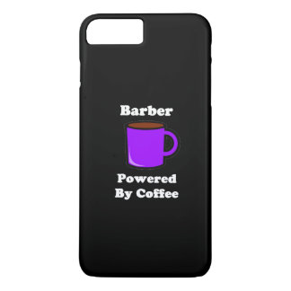"""""""Barber"""", Powered by Coffee iPhone 7 Plus Case"""