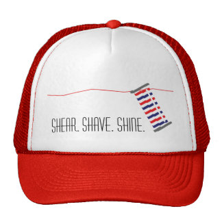 Barber Red Collection Hat for Stylish Barber